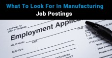 What To Look For In Manufacturing Job Postings