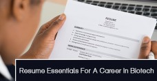 Resume Essentials For A Career In Biotech